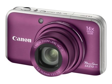 Canon PowerShot SX210 IS – 14x zoom optic într-un format compact