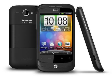 HTC lanseaza Wildfire, un fel de HTC Desire mai mic