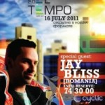 Sibianul Jay Bliss mixeaza in Rusia