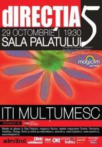 Directia 5 - Iti Multumesc - Concert