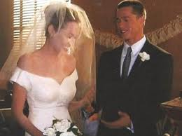 Brad Pitt si Angelina Jolie mire si mireasa