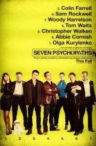 Seven Psychopaths Film Poster
