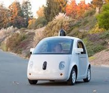 Una din masinile Google Self Driving Car a fost amendata