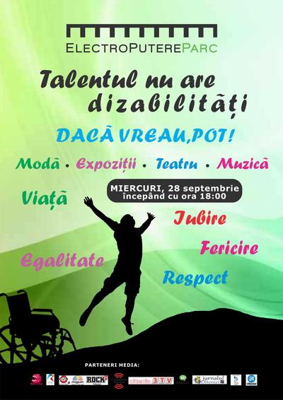 Talentul nu are dizabilitati
