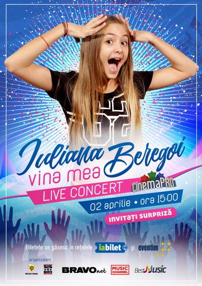 Iuliana Beregoi - Vina Mea - Concert