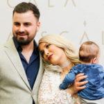 ADDA a fost inconjurata de vedete la botezul fiului ei