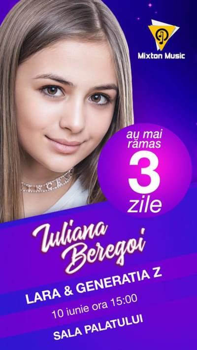 Iuliana Beregoi Concert 10 iunie
